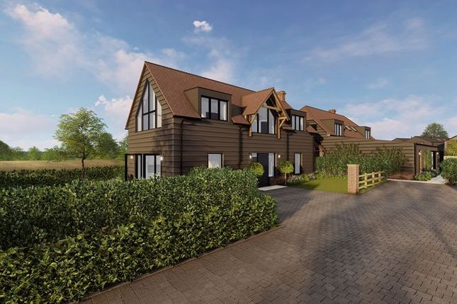 Thumbnail Detached house for sale in The Gables, Pitt Lane, Farnham
