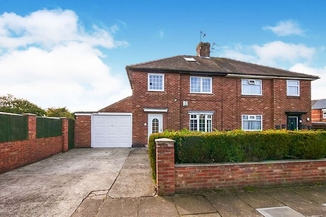 Thumbnail 3 bed semi-detached house for sale in Tudor Road, York, North Yorkshire