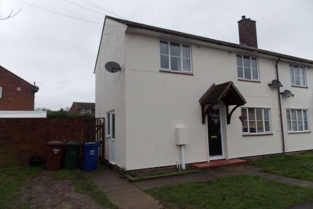 Thumbnail End terrace house to rent in Ash Lane, Ambrosden, Bicester