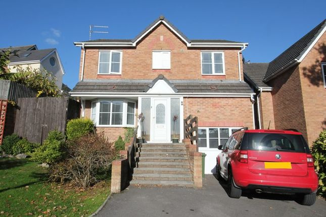 Thumbnail Detached house for sale in Cudd Y Coed, Barry
