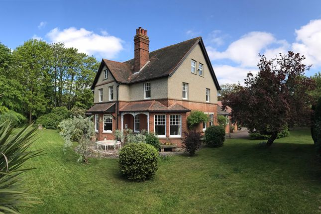 Thumbnail Detached house for sale in Heath Road, East Bergholt, Colchester