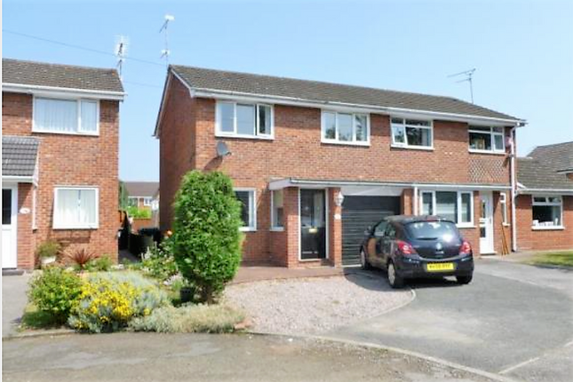 Thumbnail Semi-detached house to rent in Rectory Close, Crewe