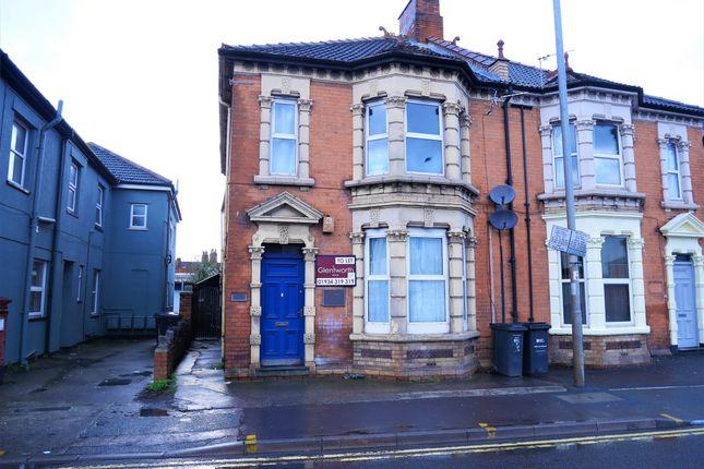 Thumbnail Flat to rent in Monmouth Street, Bridgwater, Somerset