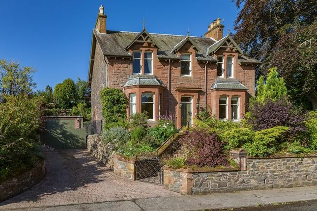Thumbnail Detached house for sale in Braeholm, Windyknowe Road, Galashiels