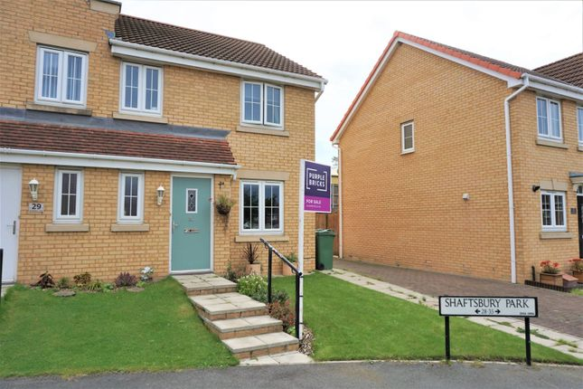 Thumbnail End terrace house for sale in Shaftsbury Park, Hetton-Le-Hole, Houghton Le Spring