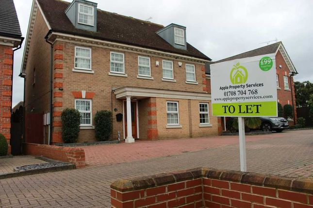 Thumbnail Detached house to rent in Caxton Way, Romford