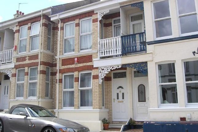 Thumbnail Terraced house to rent in Durban Road, Peverell, Plymouth