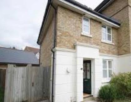 Thumbnail End terrace house to rent in Mill Court, Ashford Business Park, Sevington, Ashford