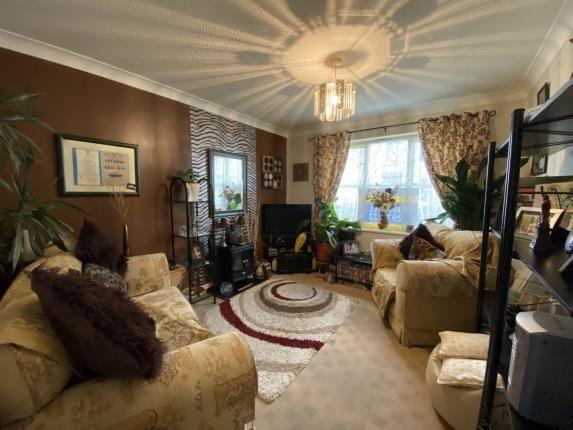 Lounge of Sutherland View, Blackpool, Lancashire, . FY1