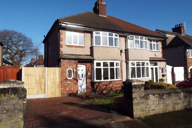 Thumbnail Semi-detached house for sale in Broadway, Higher Bebington, Wirral