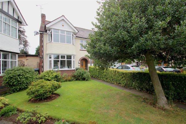 Thumbnail Semi-detached house for sale in Grenville Avenue, Stoke