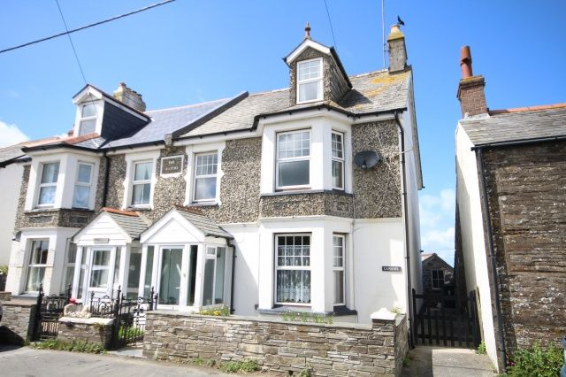 Thumbnail Semi-detached house for sale in Bossiney, Tintagel