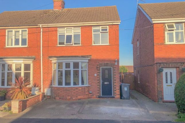 Thumbnail Semi-detached house for sale in Northlands Road, Winterton, Scunthorpe