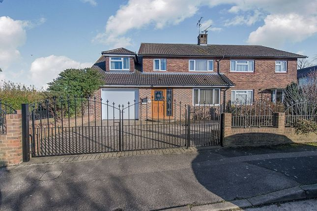 Thumbnail Semi-detached house for sale in Brabourne Avenue, Gillingham