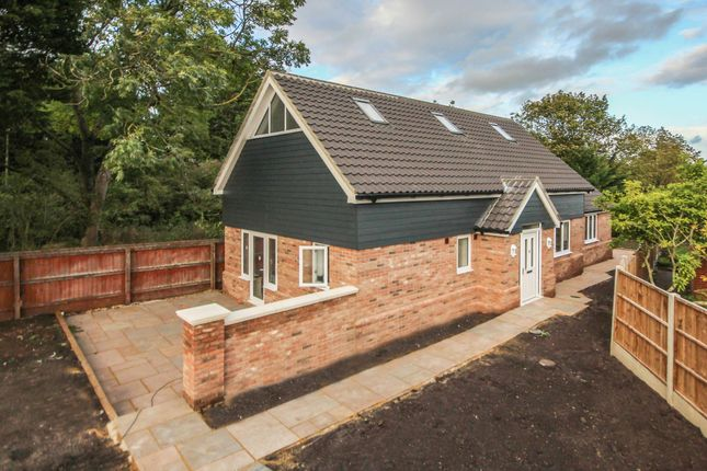 Thumbnail Detached house for sale in The Highlands, Exning, Newmarket