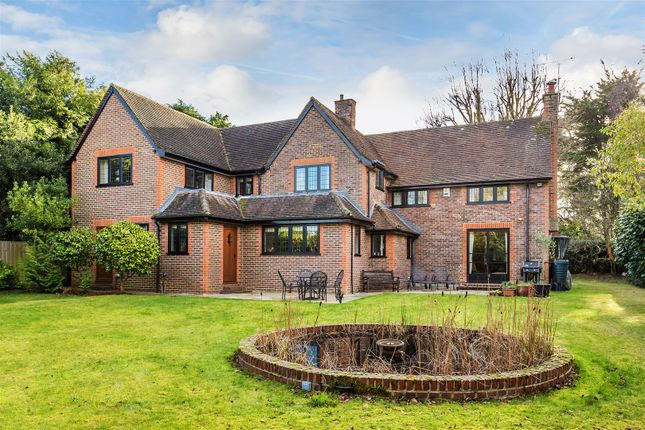 Thumbnail Detached house for sale in Mile Path, Hook Heath, Woking