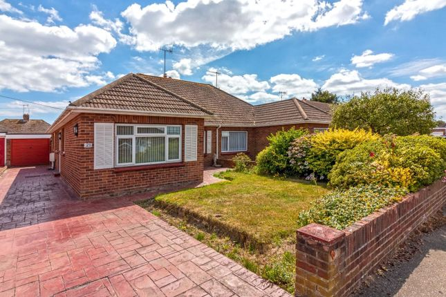Thumbnail Semi-detached bungalow to rent in Heathfield Close, Tarring, Worthing
