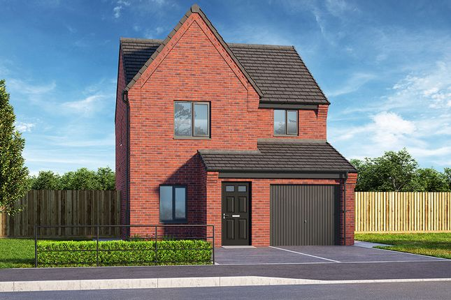"""3 bed property for sale in """"The Fern"""" at Brook Park East Road, Shirebrook, Mansfield NG20"""
