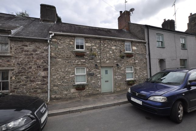 Front of Anchor House, Clifton Street, Laugharne SA33