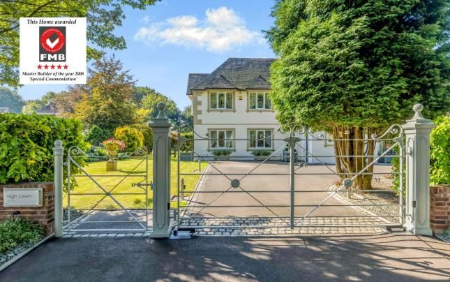 Thumbnail Detached house for sale in High Lawn, Abbots Way, The Westlands, Staffordshire