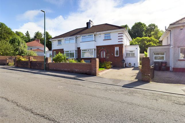 Thumbnail Semi-detached house for sale in Beaufort Terrace, Beaufort, Ebbw Vale, Gwent