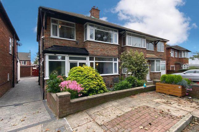 Thumbnail Semi-detached house for sale in Knaresborough Road, Wallasey