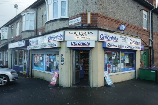 Retail premises for sale in High Heaton News, 26 Benton Road, High Heaton
