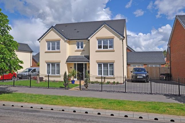 Thumbnail Detached house for sale in High-Spec Family House, Jubilee Way, Newport