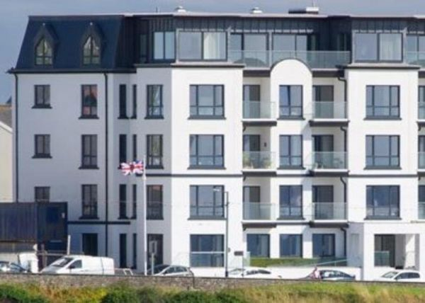 Thumbnail Flat to rent in Promenade, Port Erin