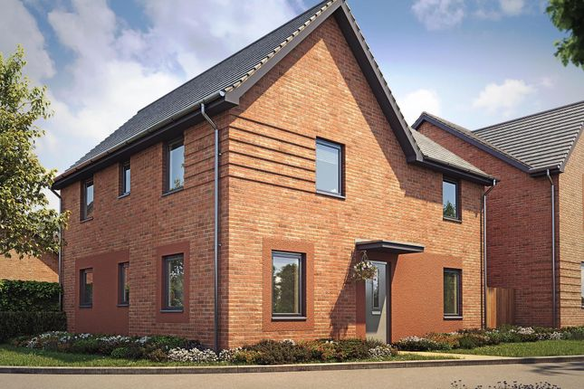"Thumbnail Detached house for sale in ""Alderney"" at Langaton Lane, Pinhoe, Exeter"