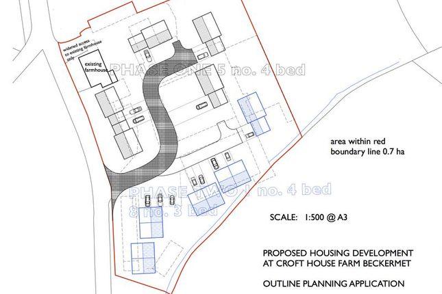 Thumbnail Land for sale in Croft House Farm, Sellafield Road, Beckermet