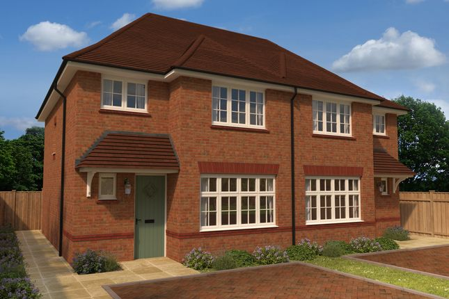 Thumbnail Semi-detached house for sale in Eaton Green Heights, Kimpton Road, Luton, Bedfordshire