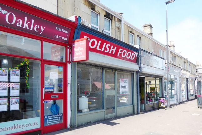 Thumbnail Retail premises to let in Moorland Road, Bath