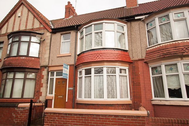 Thumbnail Terraced house for sale in Colwyn Road, Hartlepool