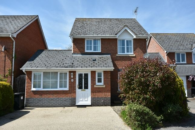Thumbnail Detached house for sale in Maes Y Celin, Guilsfield, Welshpool.