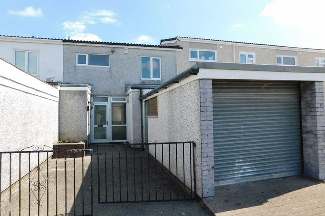 Thumbnail Terraced house to rent in Trevelyan Court, Caerphilly