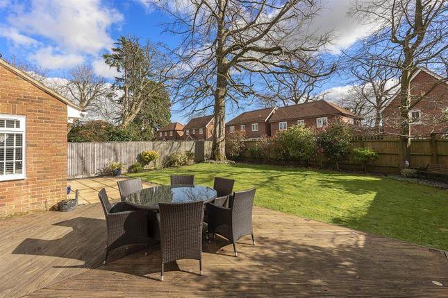 Rear Garden of Winchester Close, Amersham, Buckinghamshire HP7