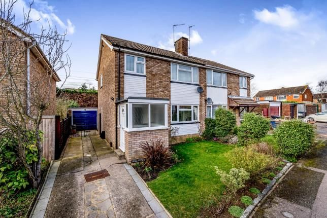 Thumbnail Semi-detached house for sale in Nightingale Avenue, Bedford, Bedfordshire