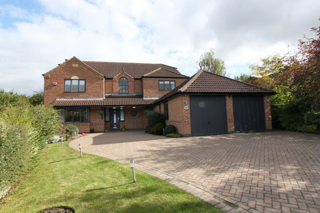 Thumbnail Detached house for sale in Manor Fields Drive, Ilkeston