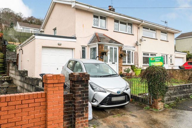 3 bed semi-detached house for sale in Hays Crescent, Glynneath, Neath SA11