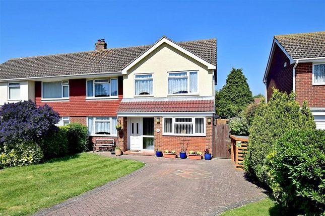 4 bed semi-detached house for sale in Fairway Avenue, Folkestone, Kent