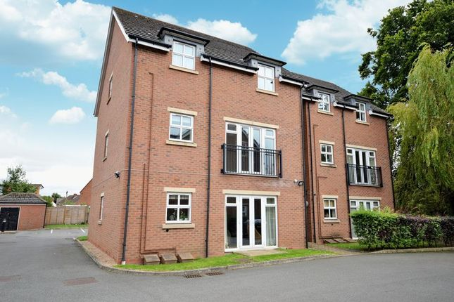Thumbnail 2 bed flat for sale in Dunstanville Court, Shifnal, Shropshire.
