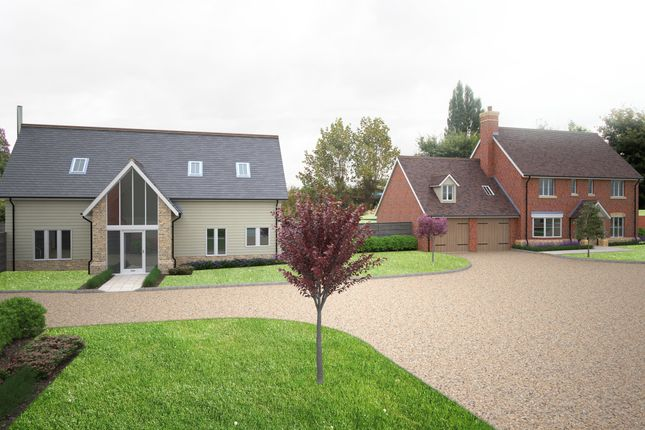 Thumbnail Detached house for sale in Down Hall Road, Matching Green, Harlow