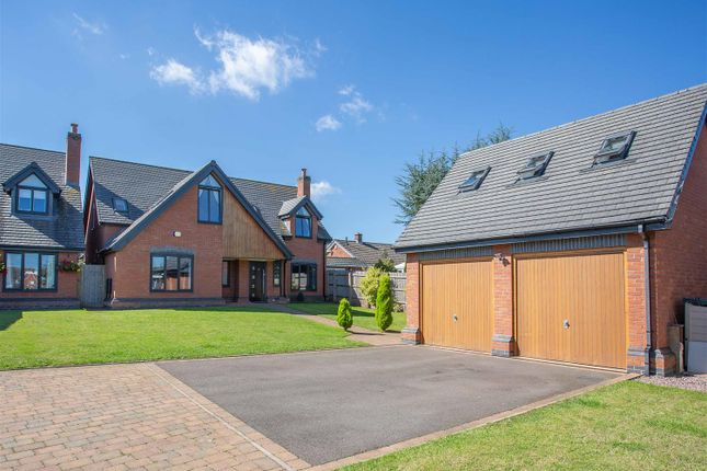 Thumbnail Detached house for sale in Gaialands Crescent, Lichfield