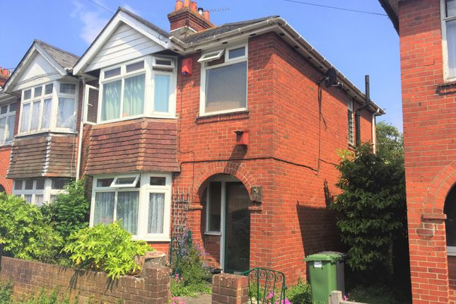 Thumbnail Semi-detached house to rent in Cranbury Road, Eastleigh