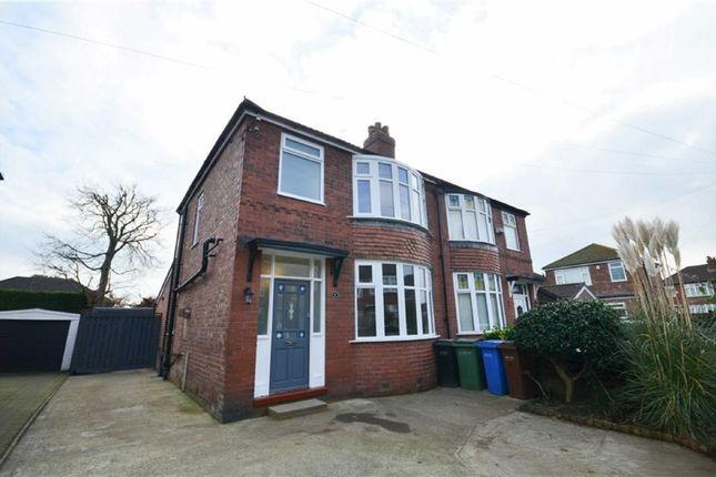 Thumbnail Semi-detached house to rent in Yealand Avenue, Heaton Norris, Stockport