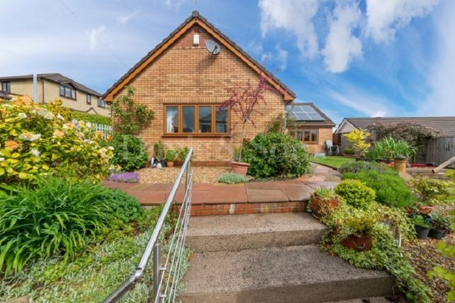 Thumbnail Detached bungalow for sale in Tranch Road, Pontypool, Monmouthshire.