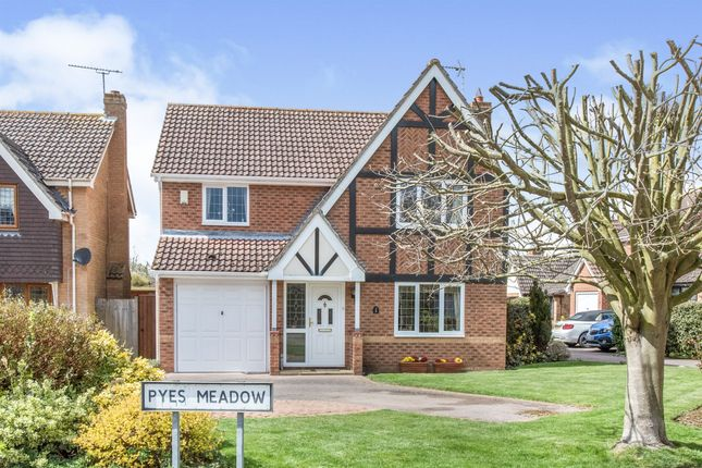 Detached house for sale in Pyes Meadow, Elmswell, Bury St. Edmunds