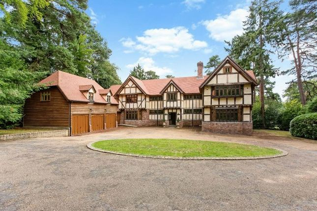 Thumbnail Detached house for sale in Callow Hill, Virginia Water