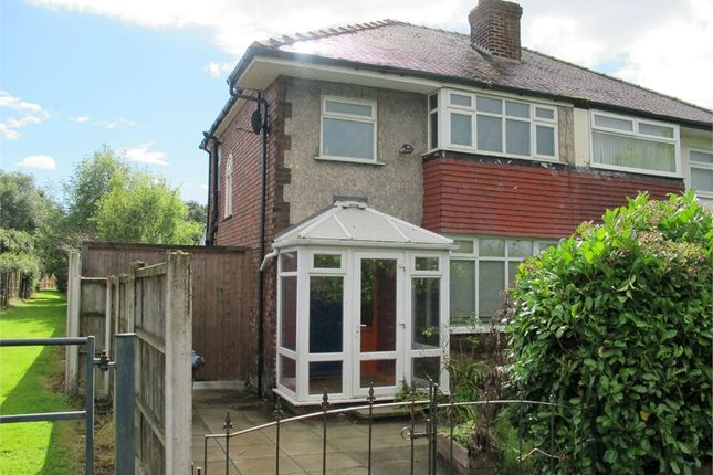 Thumbnail Semi Detached House For Sale In Lower Road Halewood Village Liverpool